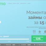 Кредитный сервис Manimo